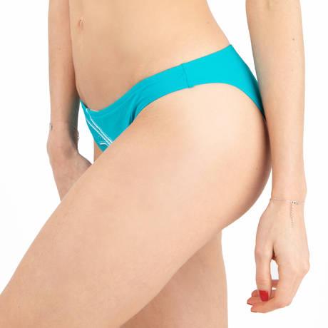 LISE CHARMEL Maillot de bain slip taille basse Distinction Nautique Nautique Turquoise
