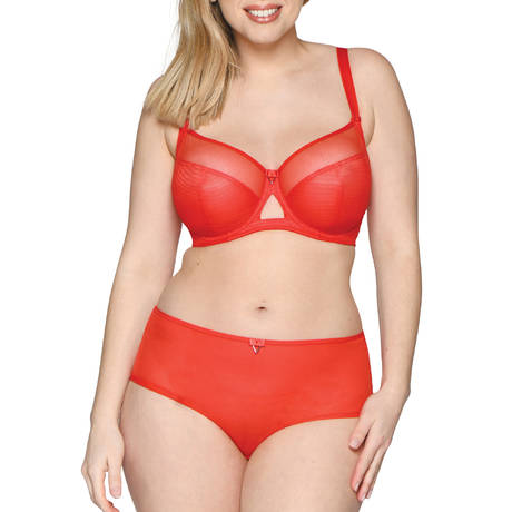 CURVY KATE Shorty Victory Flame Red