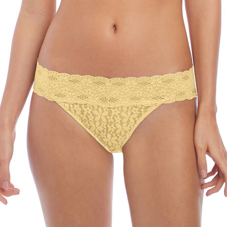 WACOAL Slip Halo Lace Lemon