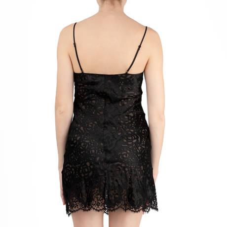 LISE CHARMEL Nuisette Dressing Floral Noir