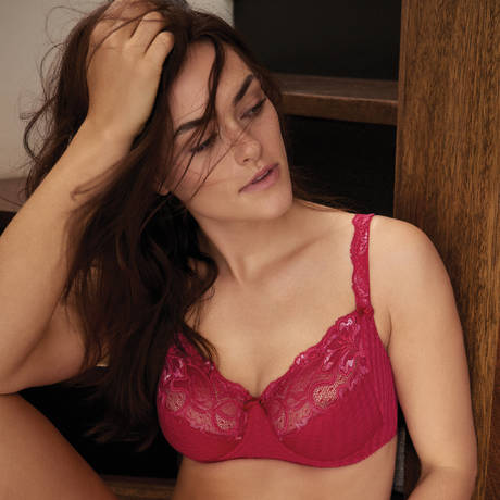PRIMADONNA Soutien-gorge armatures emboîtant 3 parties Madison Persian Red
