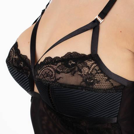DITA VON TEESE Nuisette Madame X Noir