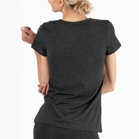 ANTIGEL Tee-shirt manches courtes Simply Perfect Gris/Noir