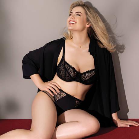 ANTINÉA Shorty Fashion Guipure Noir