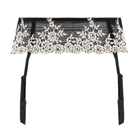 WACOAL Porte-jarretelles Embrace Lace Noir/Blanc