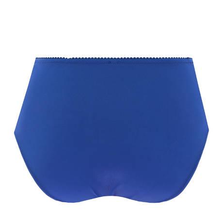 EPRISE DE LISE CHARMEL Culotte haute Guipure Charming Dressing Bleu