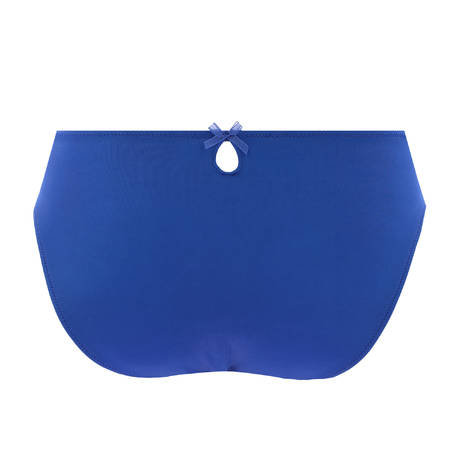 EPRISE DE LISE CHARMEL Slip fantaisie Guipure Charming Dressing Bleu