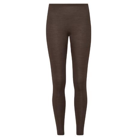 HANRO Legging en laine et soie Woolen silk Elephant Grey