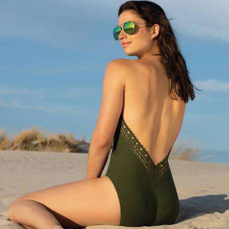 LISE CHARMEL Maillot de bain 1 pièce nageur séduction Ajourage Couture Eclat Aventure