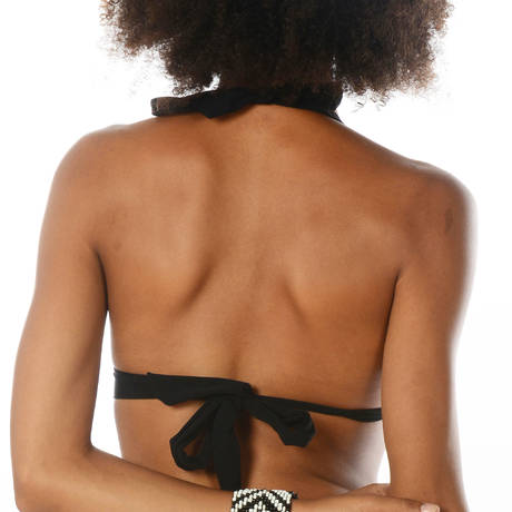 BANANA MOON Maillot de bain triangle coques Jaho Black Noir