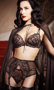 Dita Von Teese Countess Noir Noir