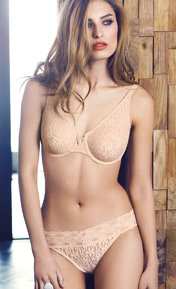 Wacoal Halo Lace Naturally Nude