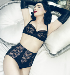 Lingerie Von Follies By Dita Von Teese Collection Sheer Witchery