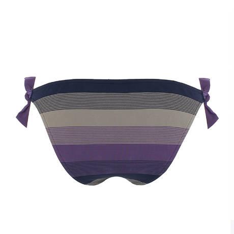 Maillot de bain slip ficelle taille basse Sonia Violet