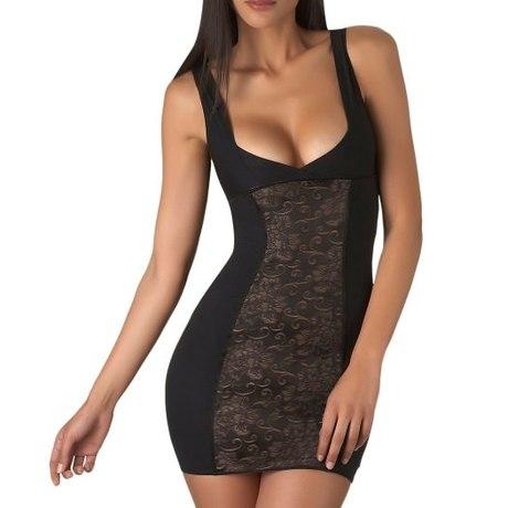 Fond de robe invisible Hypnodream Noir