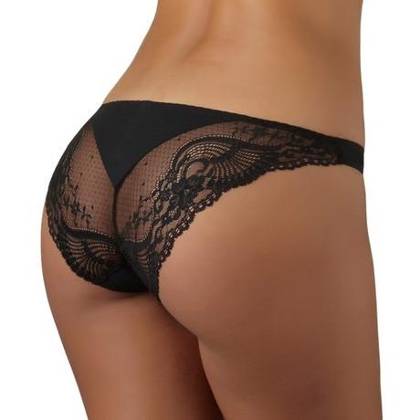 Culotte Mini-Coeur L'Insoumise Noir