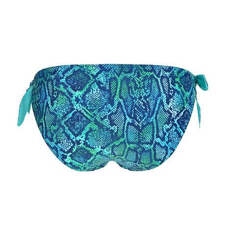 Maillot de bain slip ficelle Bora Bora Wavy Blue