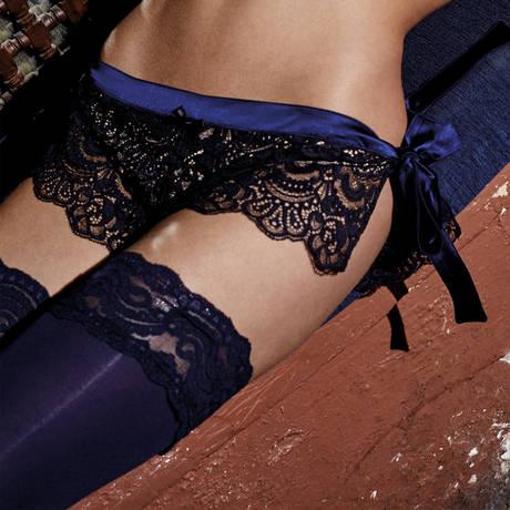 Shorty LJT Baya Noir/Bleu Nuit