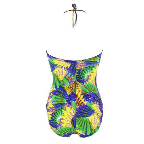 Maillot de bain 1 pièce nageur séduction Oiseaux Bali Oiseaux Azur