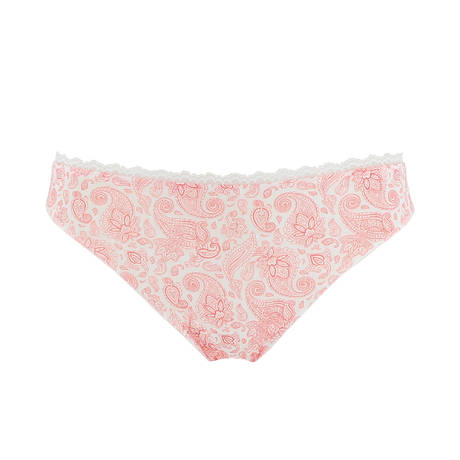 Slip charme Itinéraire Style Rose Indien