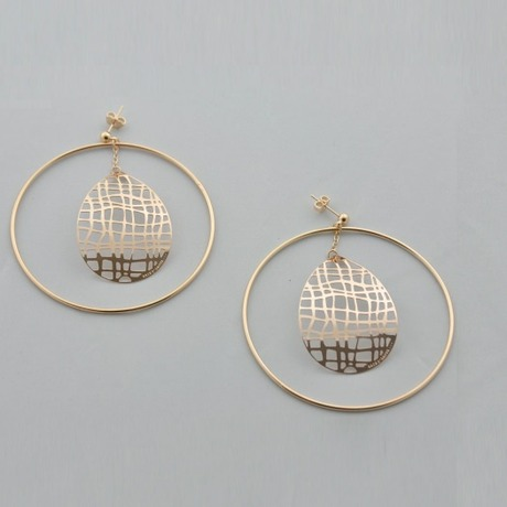 Boucles d'oreilles Bali Ring