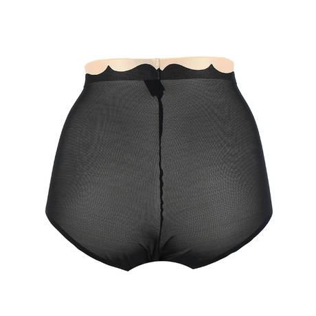 Culotte haute Passion'Elle Noir/Nude