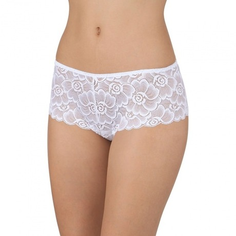 Shorty string Opale Blanc