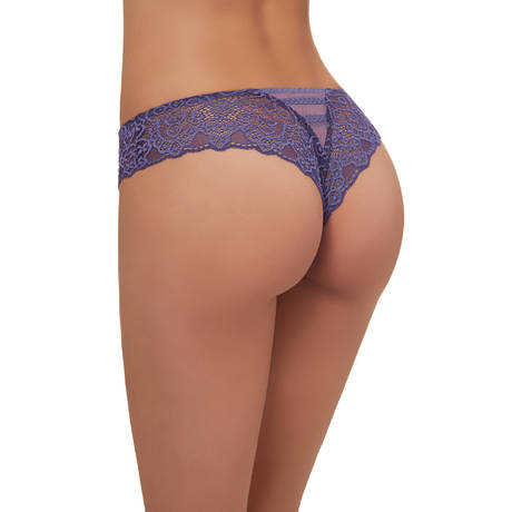 Tanga Arabesque Indigo