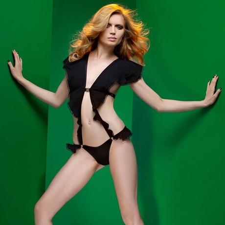 Body culotte Cascade Noir