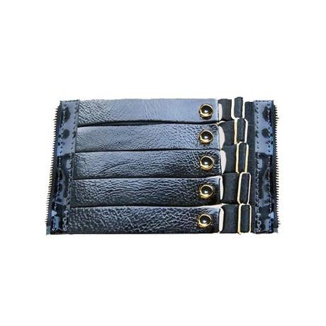 Bracelet Pearl Signature cuir verni