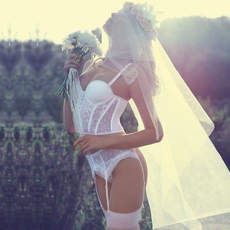Soutien-gorge bustier Voluptueuse Blanc