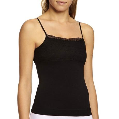 Trendy Lace Cami Noir