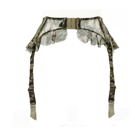 Porte-jarretelles Capricieuse Camouflage
