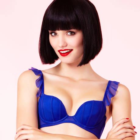 Soutien-gorge push-up Capricieuse Bleu électrique