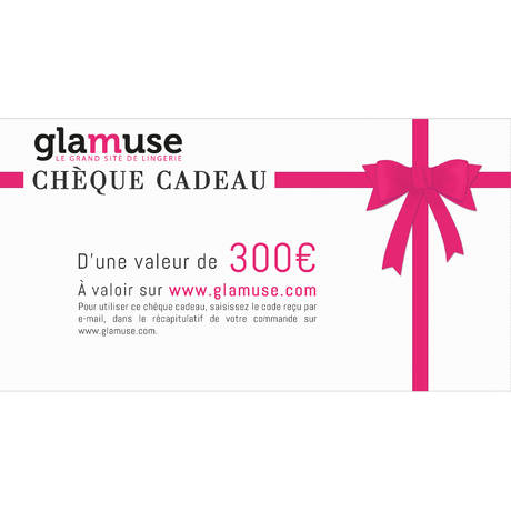 Chèque Cadeau d'une valeur de 300€