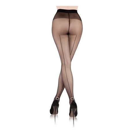 Collants Séduction couture Coeur