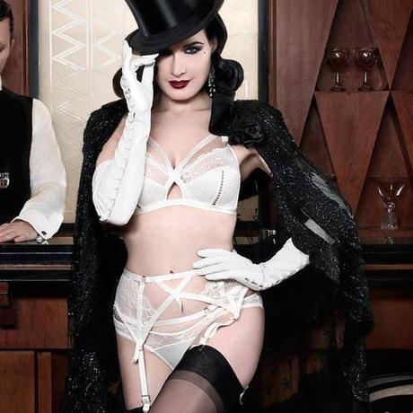 Culotte Madame X Ivoire
