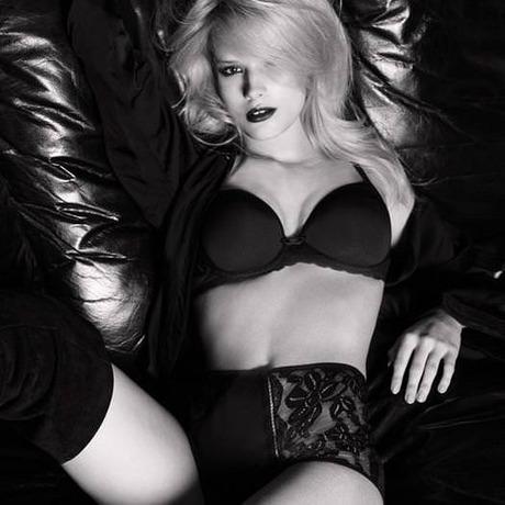 Culotte haute Elégante Noir
