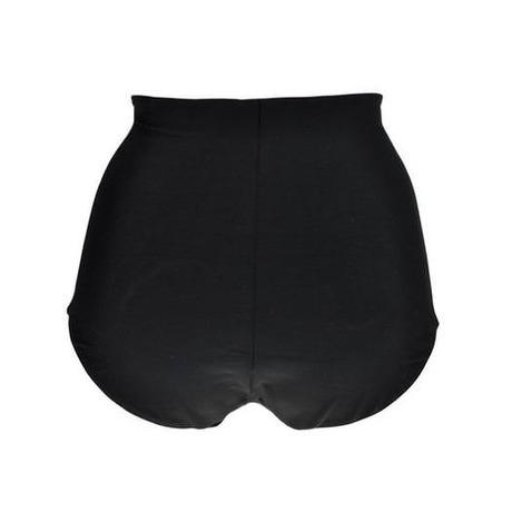 Culotte taille haute gainante Noeuds et Merveilles Noir