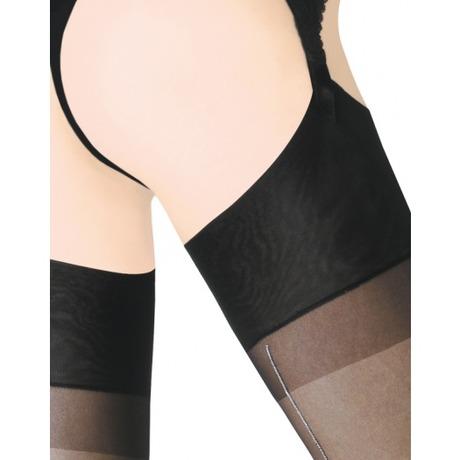 Séduction Couture Lurex Noir/Argent