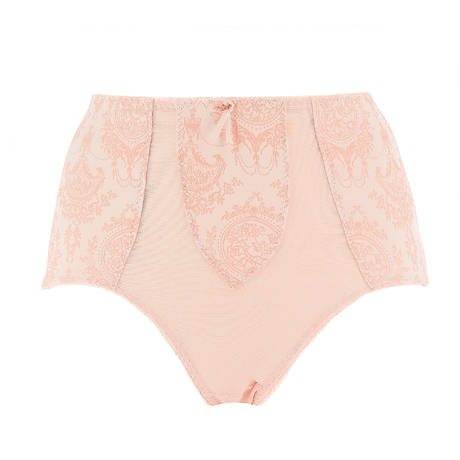 Culotte haute galbante Sheer Witchery Vintage Peach