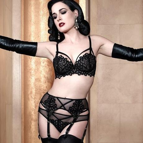 Culotte Black Dahlia Noir