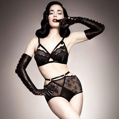 Culotte haute Madame X Noir