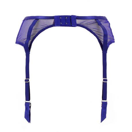 Porte-jarretelles Madame X Bleu