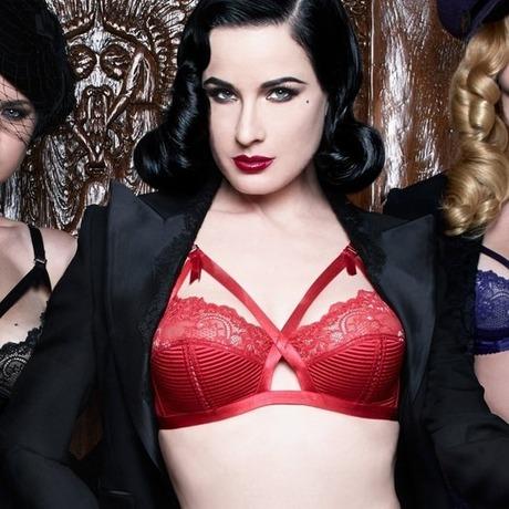 Soutien-gorge sans armatures Madame X Rouge