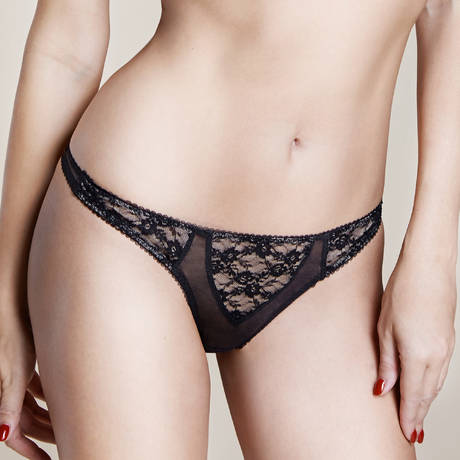 String Sheer Witchery Noir/Beige