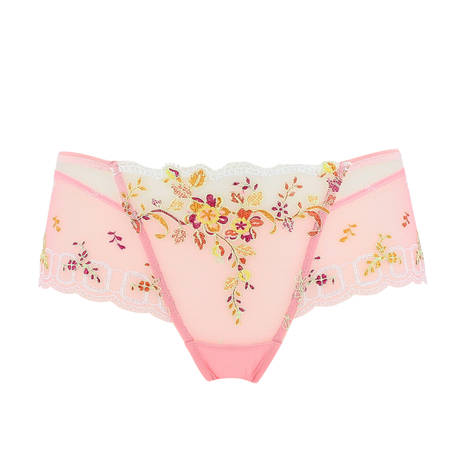 Shorty enrichi Romantique Pastel Ecaille Corail