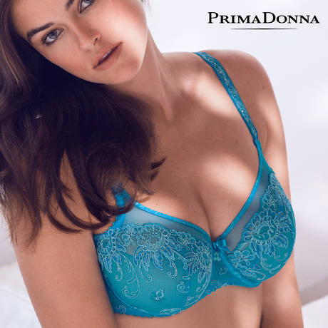 Soutien-gorge balconnet Oriental Night Summer Blue