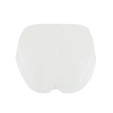 Culotte haute Dressing Floral Blanc
