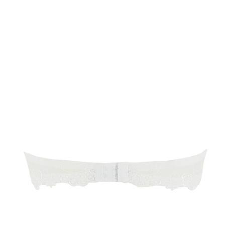 Soutien-gorge bandeau coques Dressing Floral Blanc